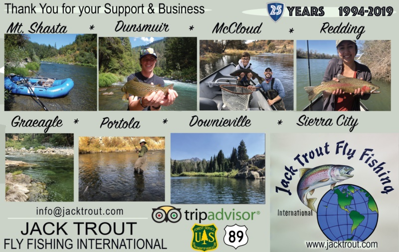 Northern Sierra Fly Fishing Guides