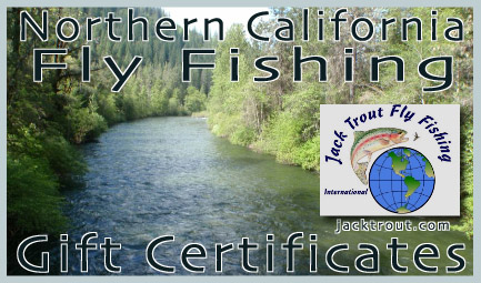 California fly fishing gift