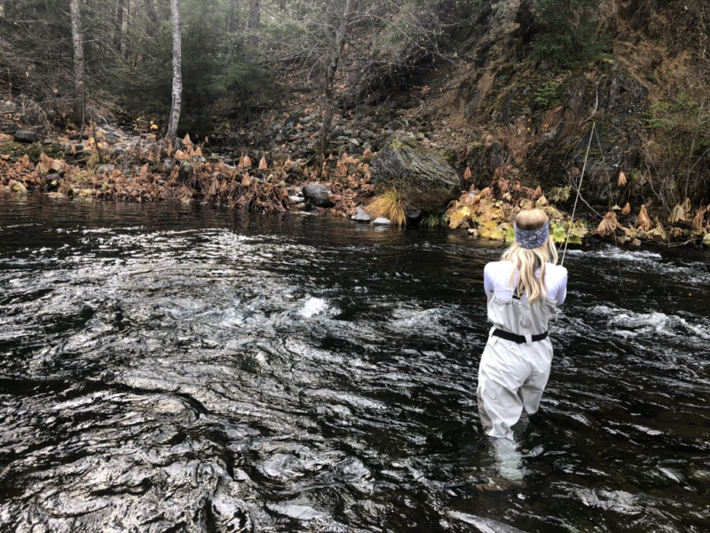Ladies Fly Fishing McCloud River