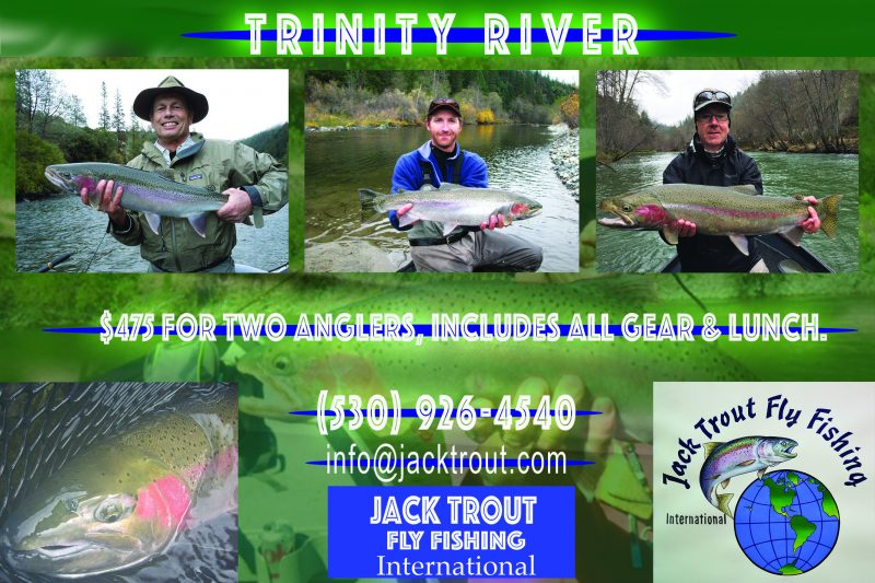 Steelhead guide Trinity River California