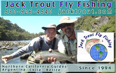 Guided fly fishing in Chile