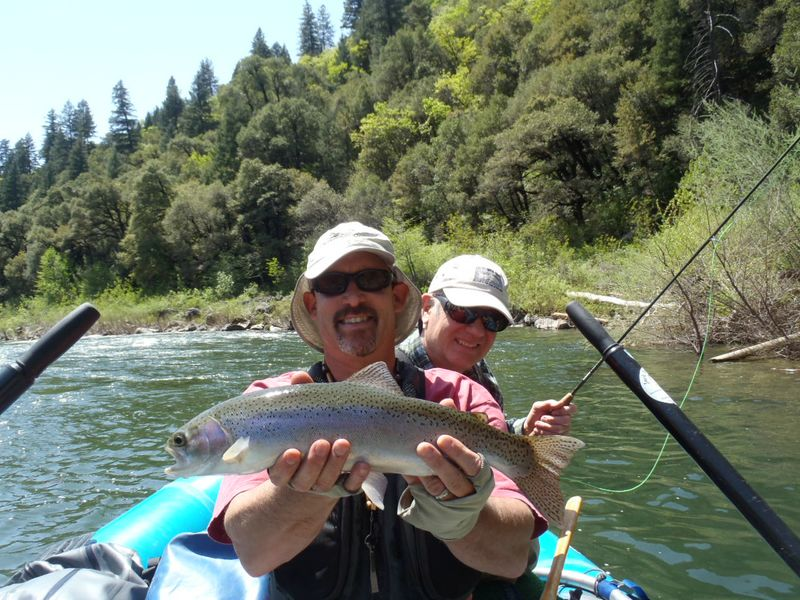 Floating Upper Sacramento Fly Fish