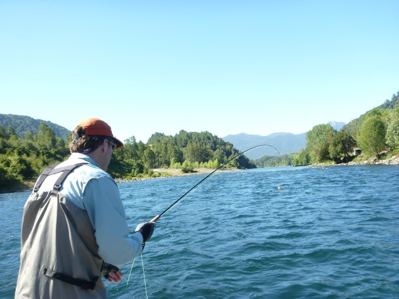 Southern chile fly fishing makes me smile for Fly fishing southern california