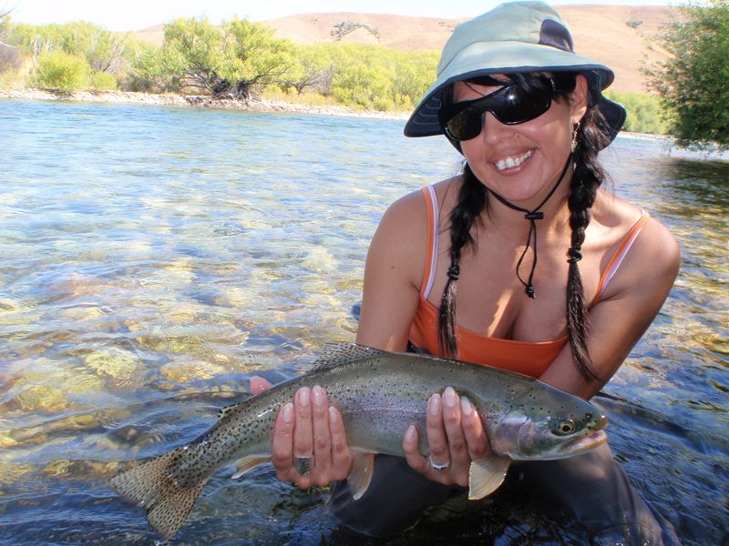 Carola Trout Argentina Fly Fishing