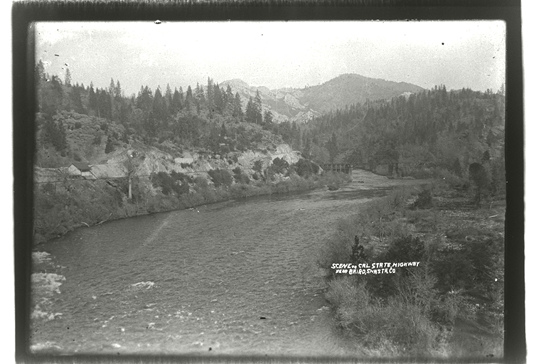 McCloud River Joins the Pit River 1880's