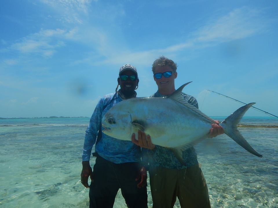 Jack Trout Belize City Fly Fishing