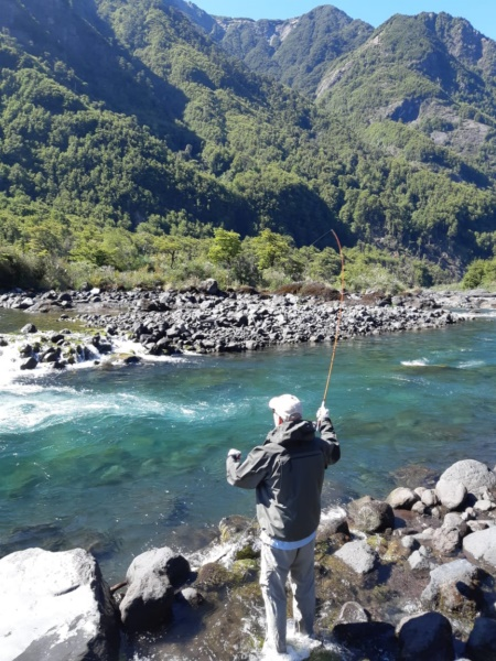 Chile report fly fishing 2019