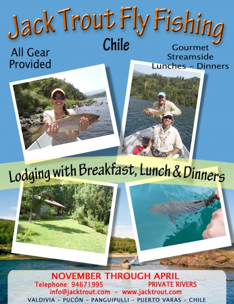 Lodge info fly fishing Chile